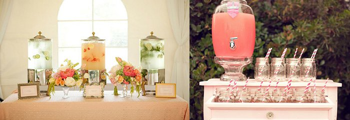 Cold drink ideas for weddings